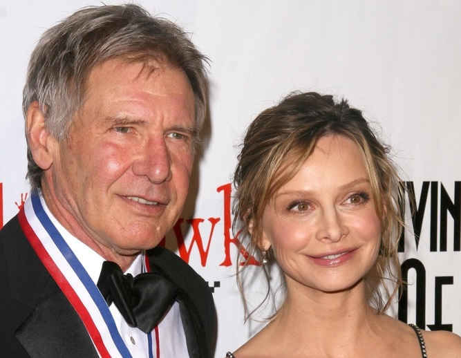 Harrison Ford couple