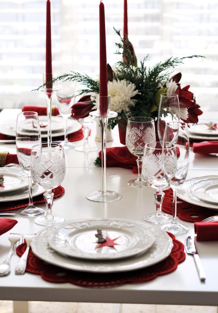 Modes et beaut s d corations de no l 2012 les tendances for La table de noel